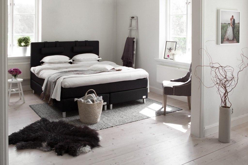En Kontinentalseng kan se godt ud i soveværelset